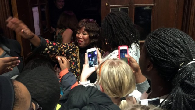 After 5 Decades, Ruby Bridges Gets Applause Instead of Death Threats in School
