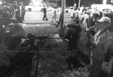 Officer Draws Weapon on Baton Rouge Protesters